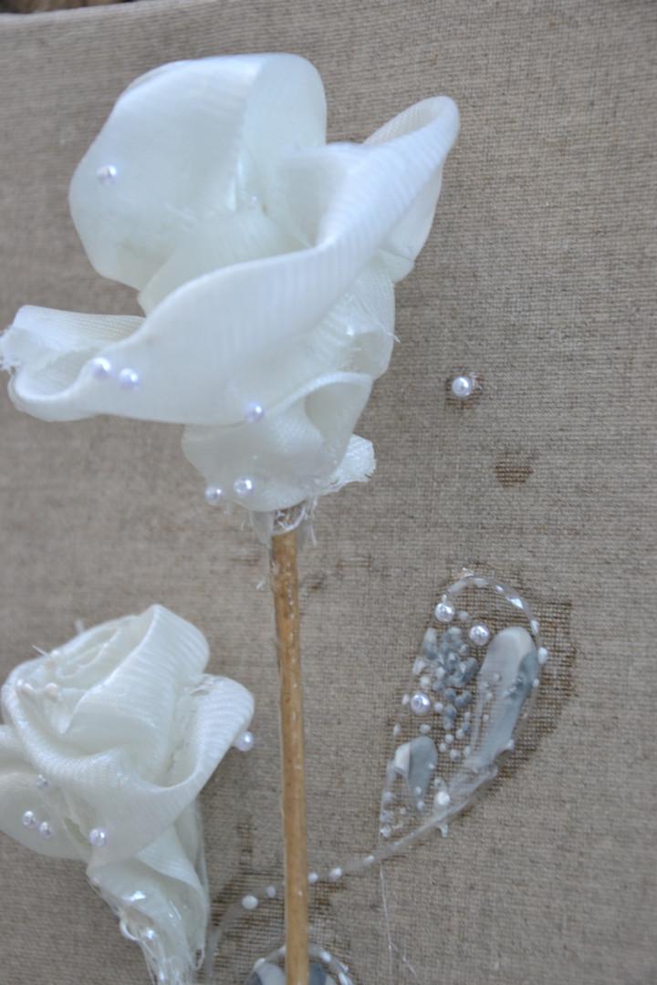 Le bouquet, détail, 20 x 60 cm