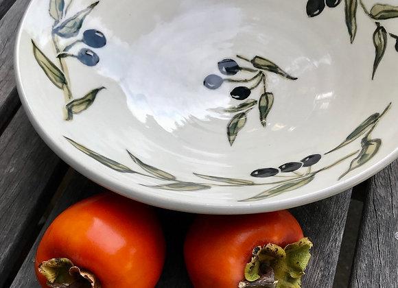 Medium Bowl: California Olive