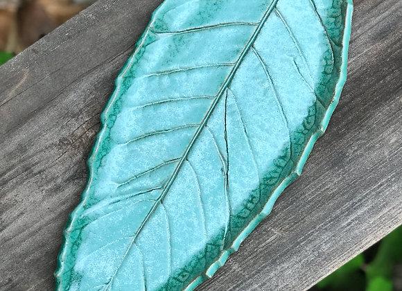 "Loquat Leaf Tray: 14"""