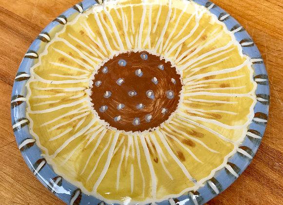 Spoon Rest: sunflower