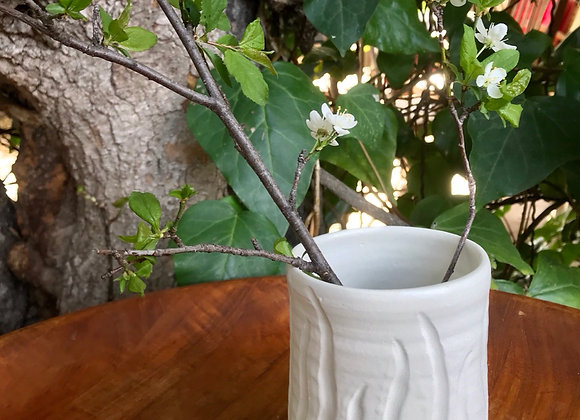 Small Luna Vase with Waved Lines