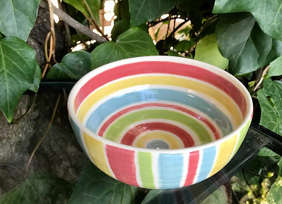 Small Bowl: Rainbow