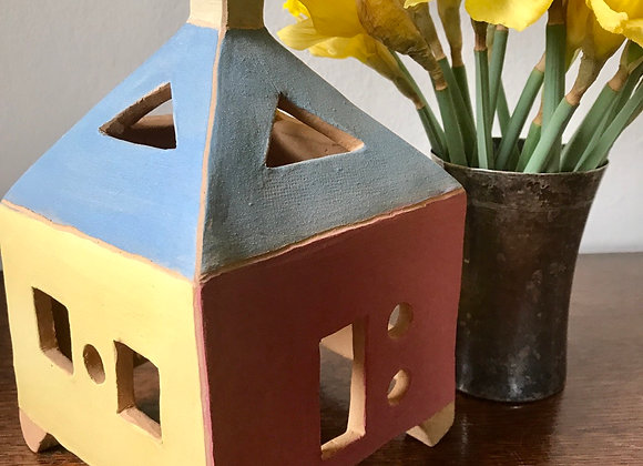 House of Clay: Yellow, Rose and Sky Blue