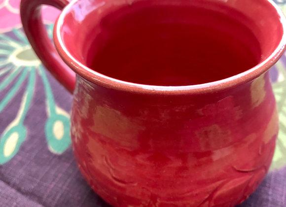 Petite Mug: Snapdragon Red