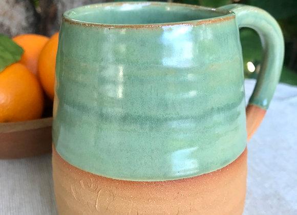 Mug:  Emeraude and Filagree Texture