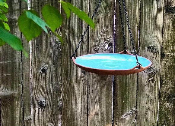 Bird Bath: Laguna blue green