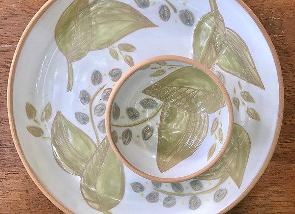Appetizer Set: Leaf and Bloom