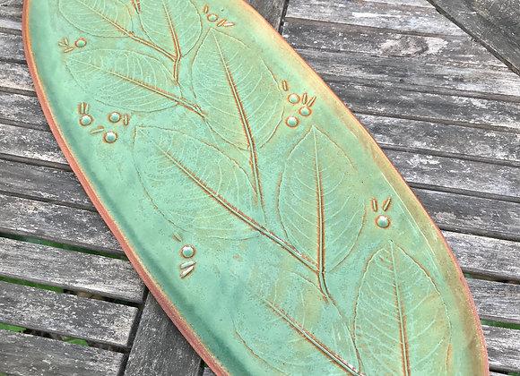 Lemon Leaf Platter #1