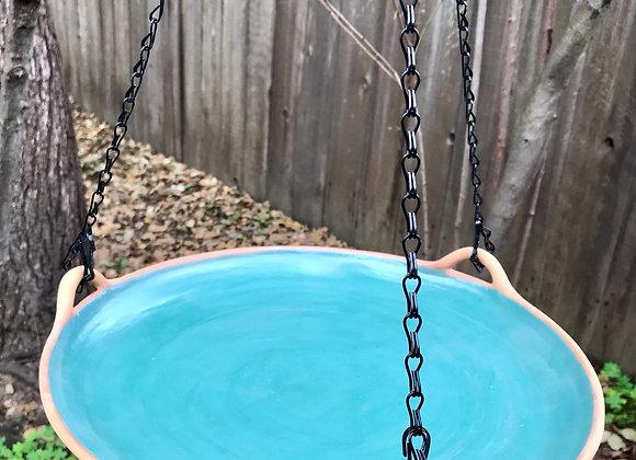 Bird Bath: Teal