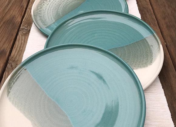Tideline Dinner Plates:  Set of 6