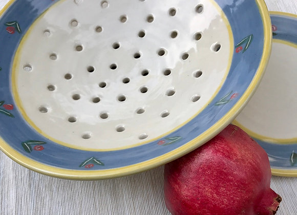 Colander and Saucer: Provence