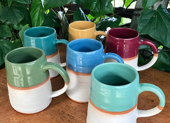 Banded Color Cups