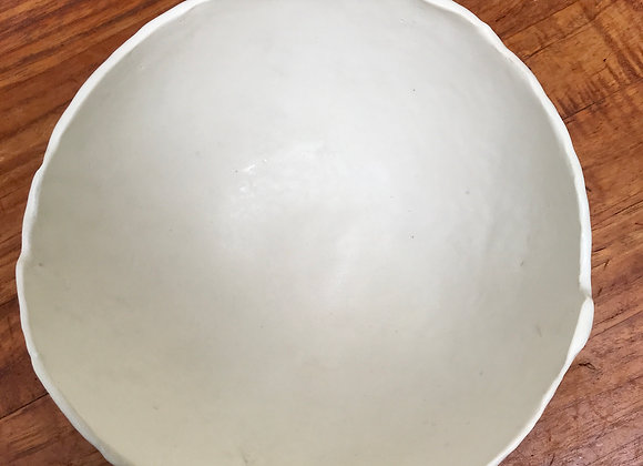 Serving Bowl in Matte White