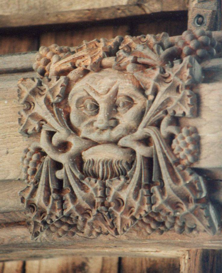 The Green man, l'Homme vert