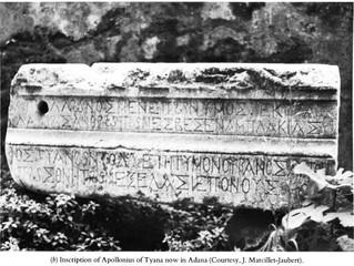 Une épigramme sur Apollonios de Tyane