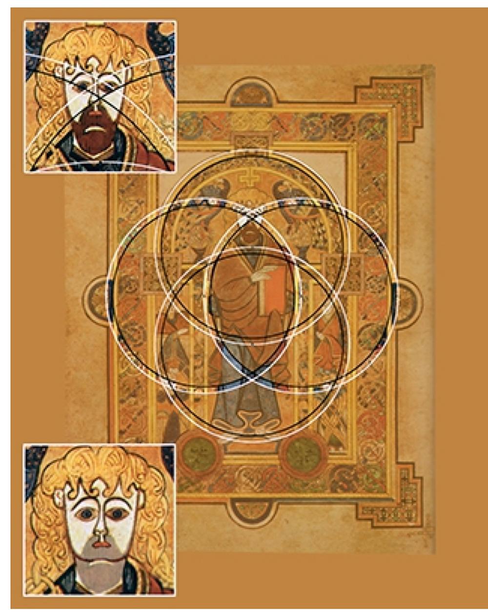 Le livre de Kells - Irlande - Fin du 8è siècle