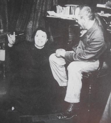 La médium Elise Müller et le médecin Théodore Flournoy