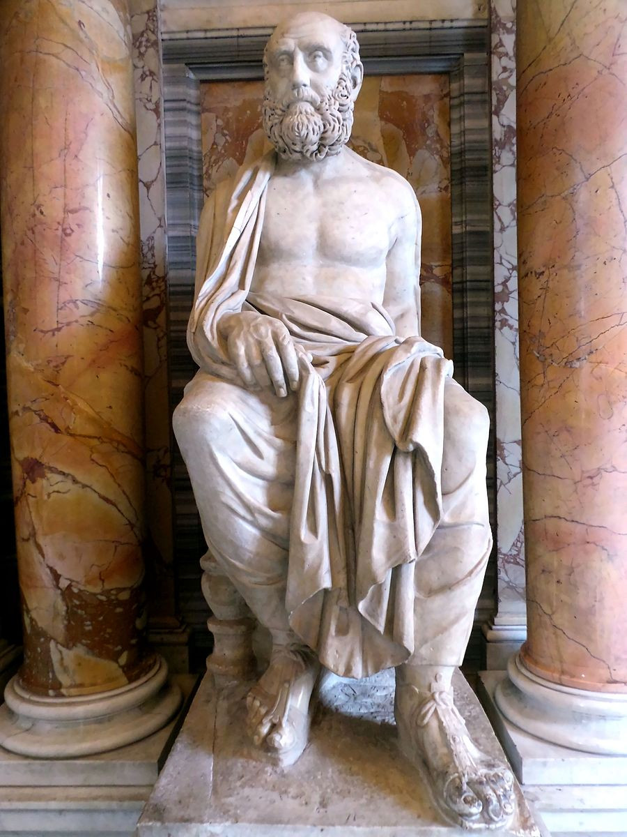 Aelius Aristide, musée du Vatican