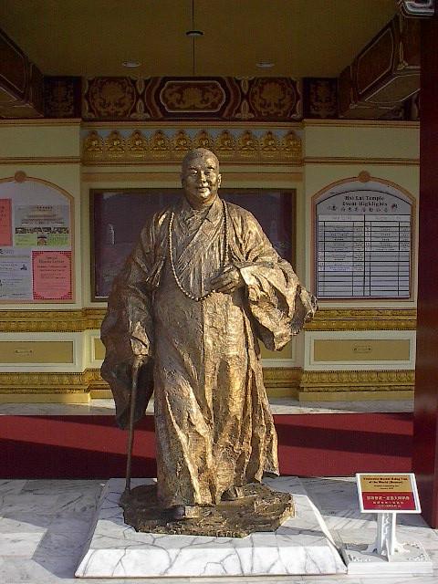 Statue de maître Hsi Yun