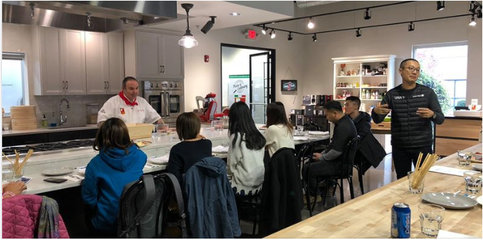 The group toured top attractions in Dupage County, showcasing the Morton Arboretum and North American Pizza Academy in Lisle.