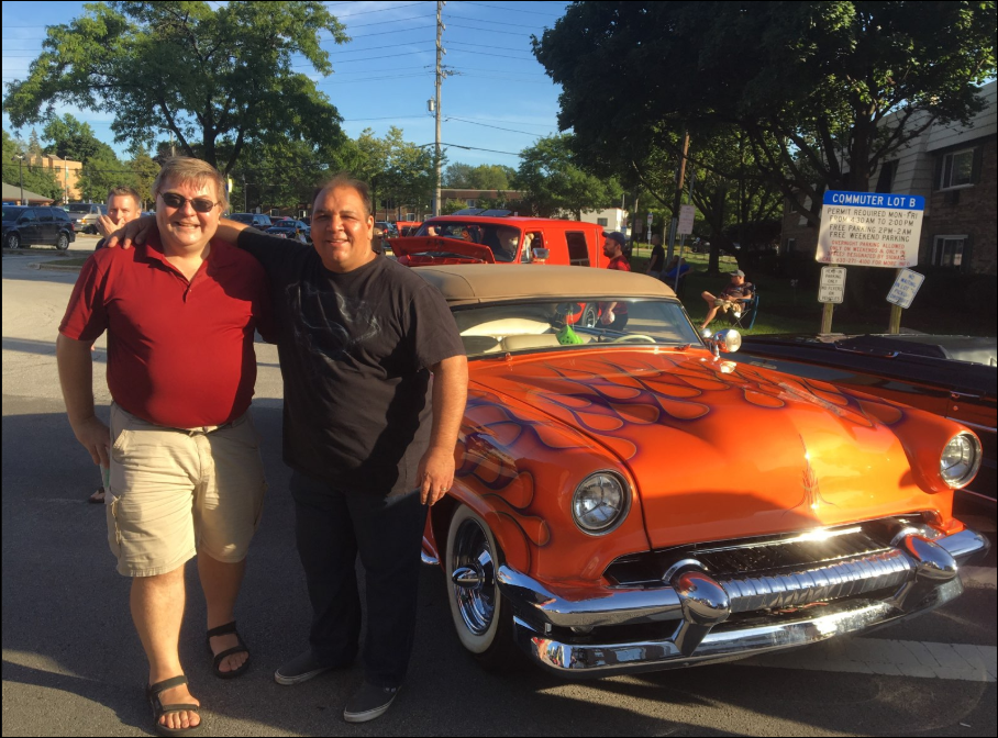 Awesome picture-perfect Saturday night in Downtown Lisle.  Record number of cool cars, big crowd of #Lisle friends & neighbors, music, food and soooo much fun!! Till 9 PM. Don't miss the best of Lisle.  Thanks to Kiwanis Club of Lisle & Lisle Heritage Society for all your hard work hosting this event, ❤️