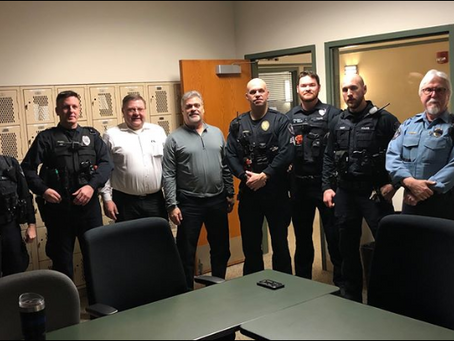 We appreciate the Lisle Police Department