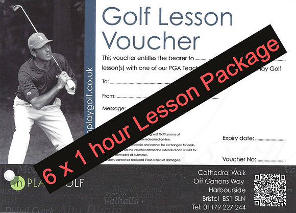 6 x 1 Hour Lessons