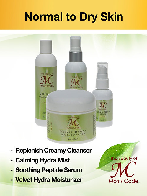 Normal to Dry Skin Care System