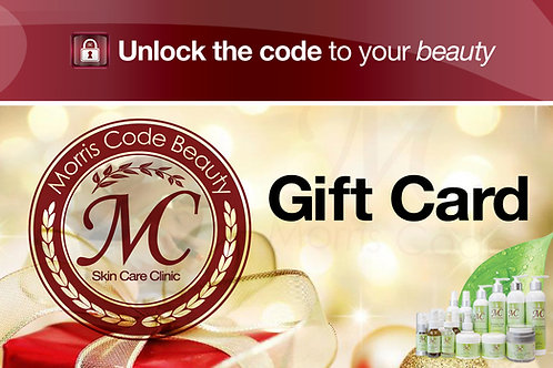 MC Skin Care Clinic Gift Card