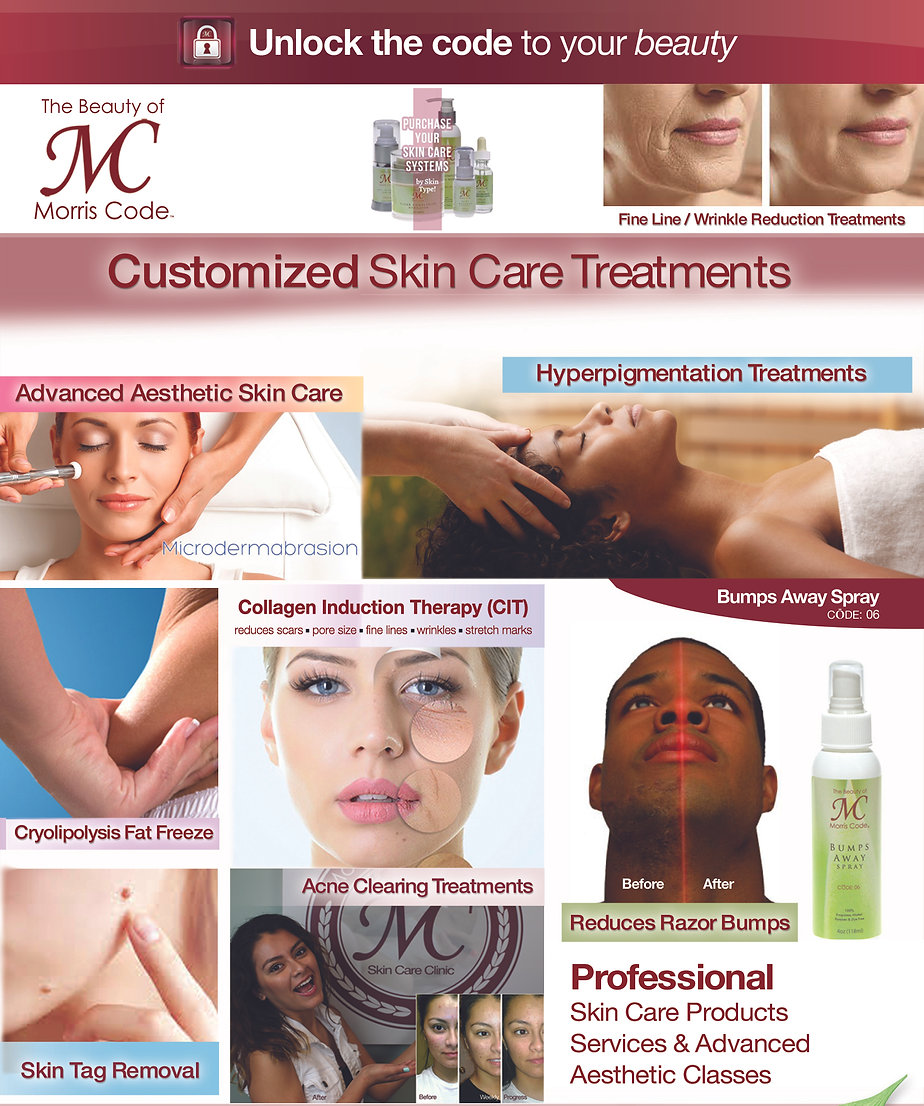 Skincare Clinic Treatments Website Servi