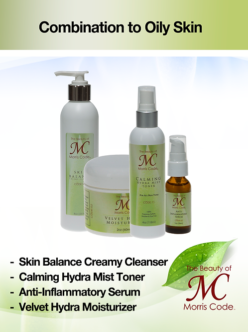 Combination to Oily Skin Care System