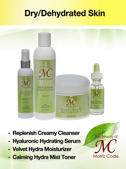 Dry Dehydrated Skin Care System