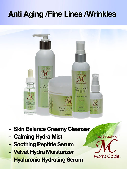 Anti-Aging/ Fine Lines/ Wrinkles Skin Care System