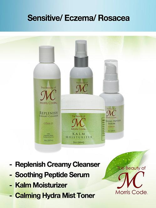 Sensitive/ Eczema/ Rosacea Skin Care System