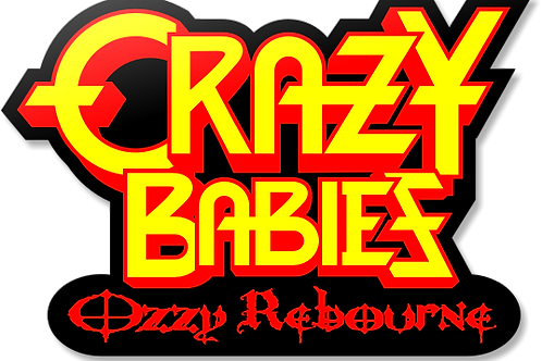 Glossy Sticker - Retro Logo