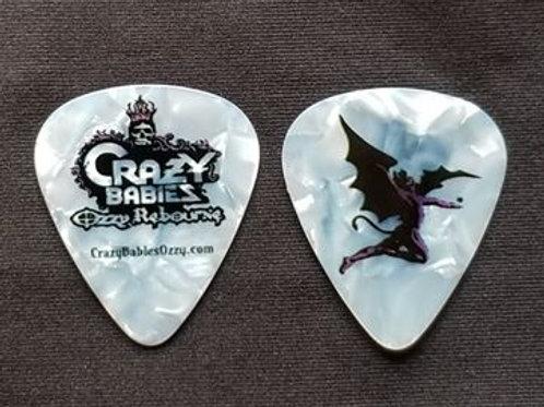 Guitar Pics - 2 Black Rain / Henry Guitar Pics