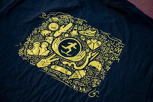 Express Yourself Doodle T-Shirt
