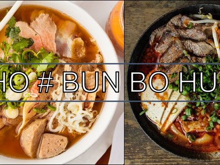THE DIFFERENCE BETWEEN PHO & BUN BO HUE