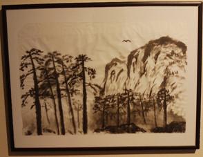 Mountian & Bird