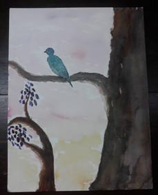 Blue Bird Great Tree