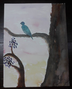 Blue Bird Great Tree