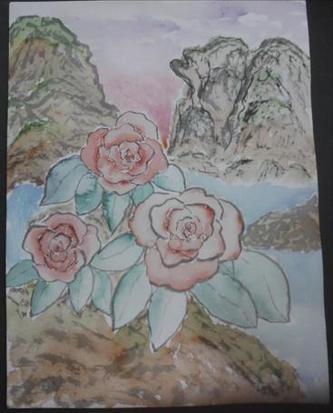 3 Vermiloin Flowers