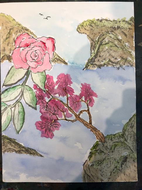Rose & Tree