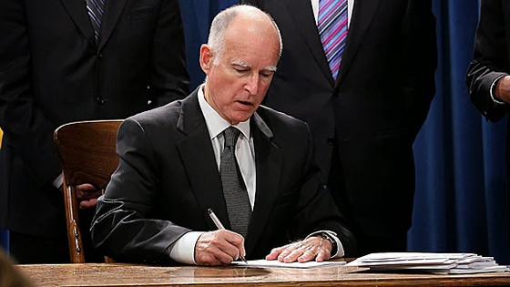 Governor Brown signs MAUCRSA, merging medicinal and adult-use cannabis regulations