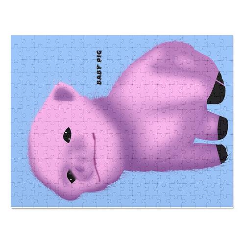 Baby Pig 252 Piece Puzzle