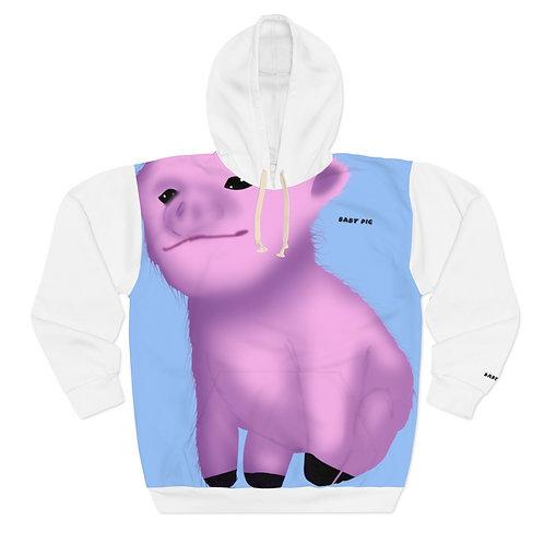Baby Pig Custom Design Pullover Hoodie
