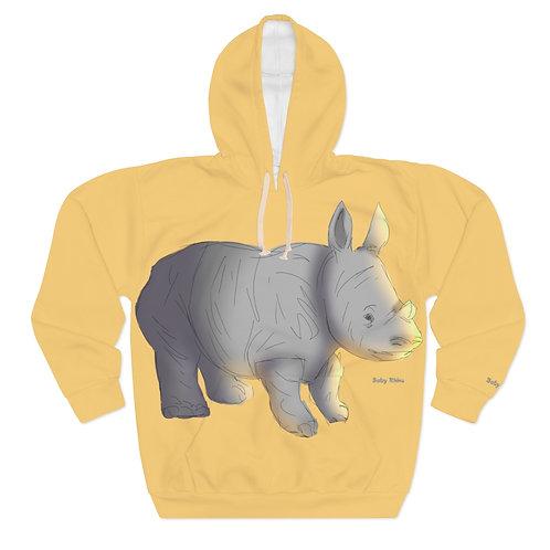 RL Kids Baby Rhino Pullover Hoodie
