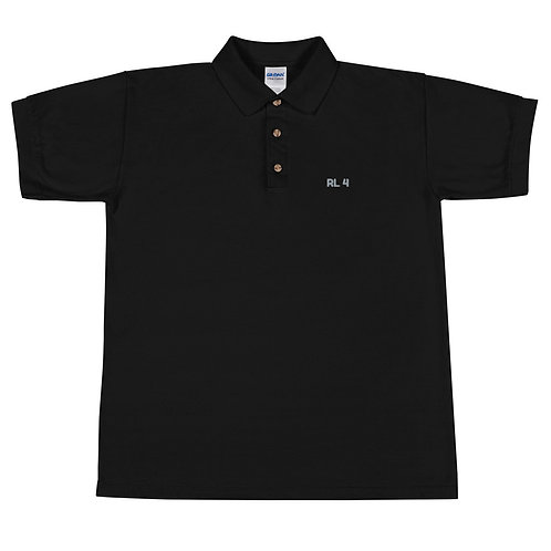 RL 4 Embroidered Polo Shirt