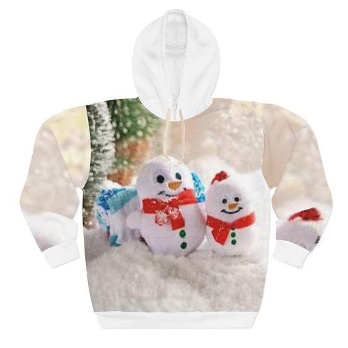 Reel Lyfe Xmas Snowman Hoodie