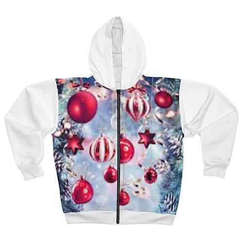 Reel Lyfe Fashions Xmas Zip Jacket